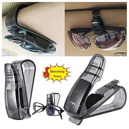 Jersh Soporte para gafas de sol para coche con clip de ...