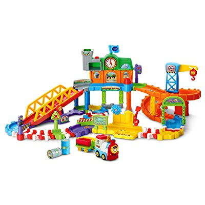 VTech Go! Go! Smart Wheels Roadmaster Train Set: Toys & Games