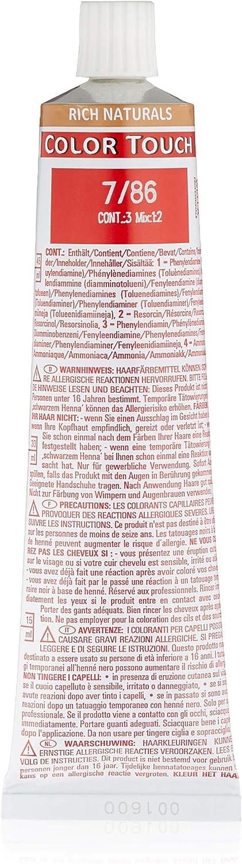 Wella Professionals Color Touch 7/86 rubio medio perla púrpura, 60 ml