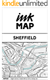 Sheffield Inkmap - maps for eReaders, sightseeing, museums, going out, hotels (English)