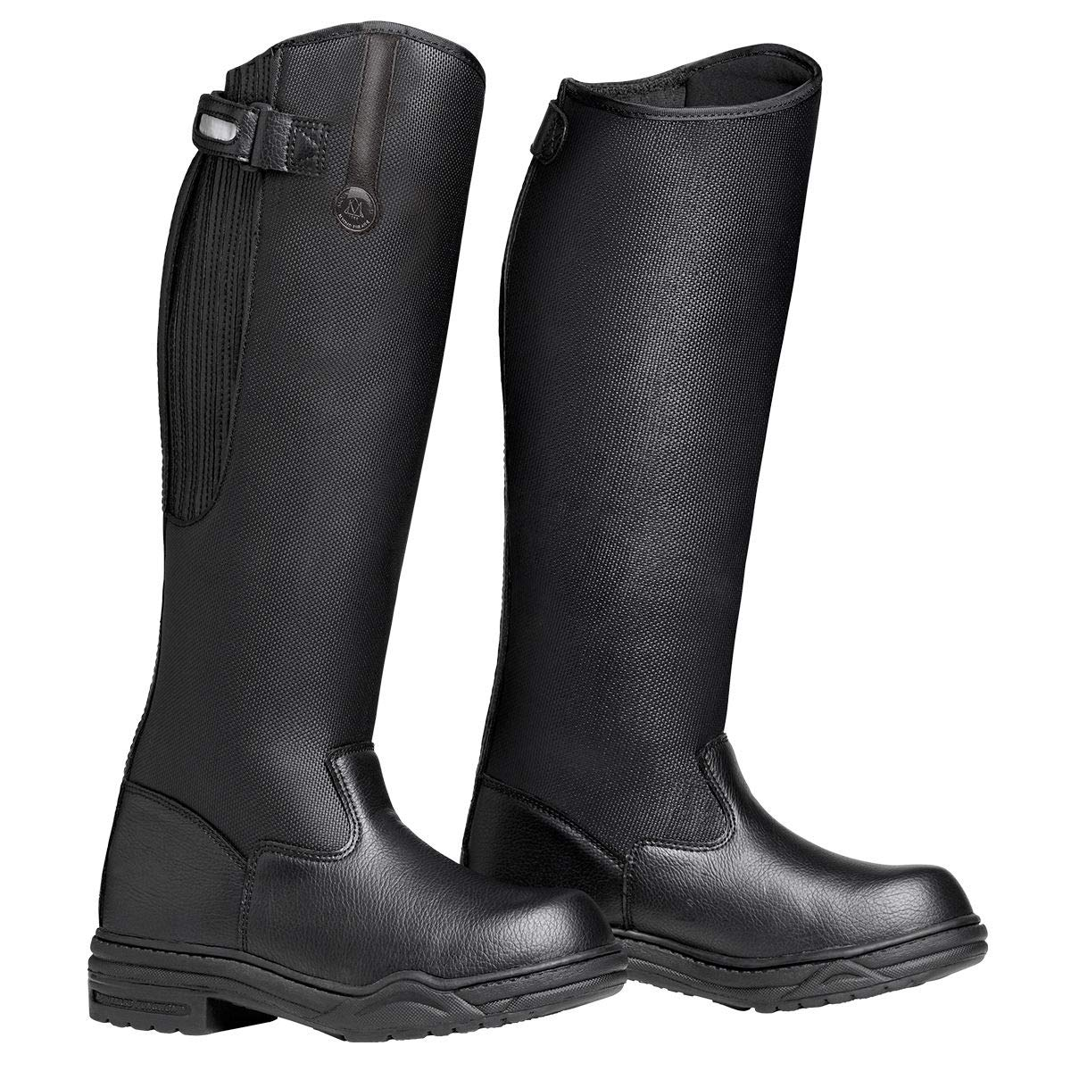 Mountain Horse Mens Rimfrost Rider Tall Boot Black (10) by Mountain Horse