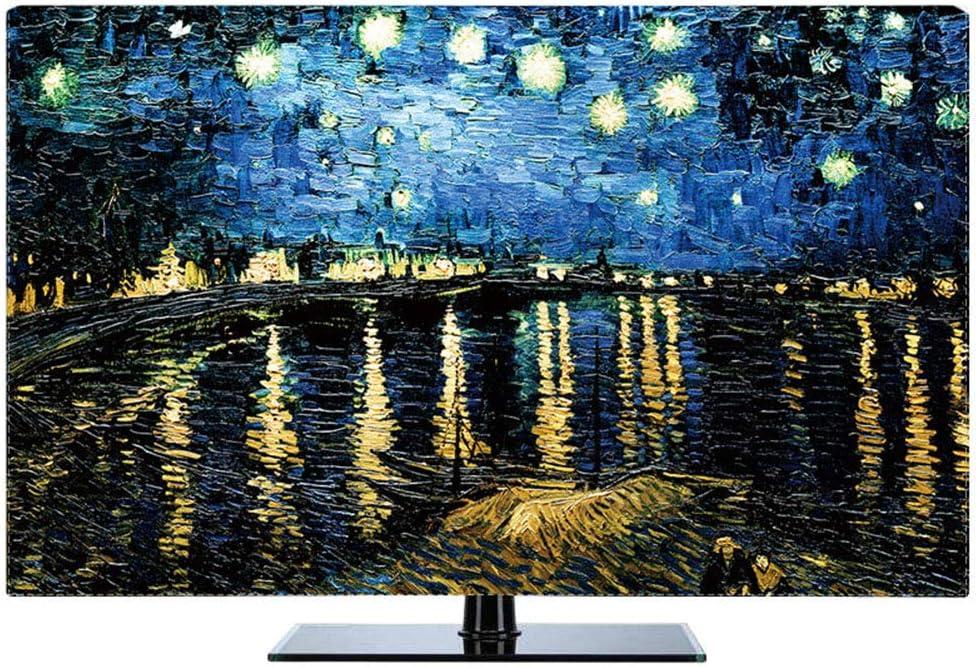 JT Cubierta Antipolvo para TV Colgador De Escritorio A Prueba De Agua Cubiertas De Televisión LCD Universal,Color1,65: Amazon.es: Hogar