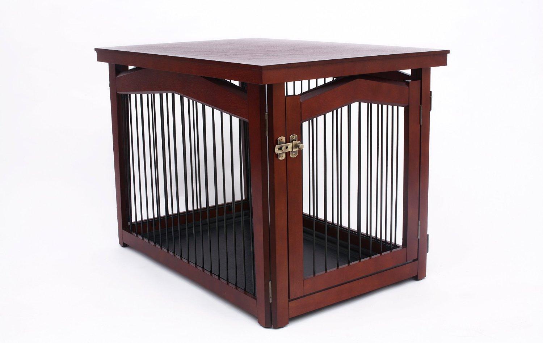 ByZooVilla 2-in-1 Crate Medium Crate and Gate