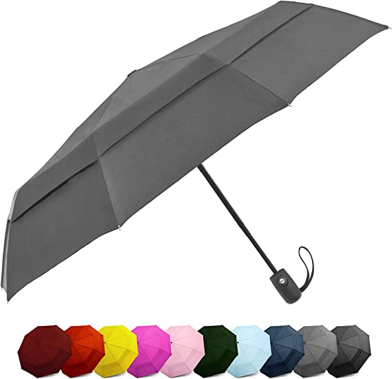 EEZ-Y Compact Travel Umbrella W Windproof