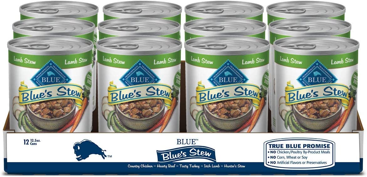 Blue Buffalo Blue's Stew Grain Free Natural Adult Wet Dog Food Variety Pack