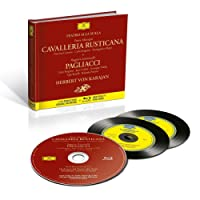 Cavalleria Rusticana & Pagliacci (2CD Remastered Original Recording & Blu-ray High Fidelity Pure Audio)