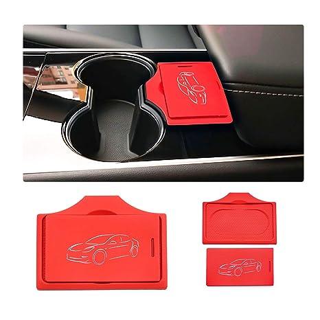 Amazon.com: LFOTPP Tesla - Juego de 2 llaveros de silicona ...