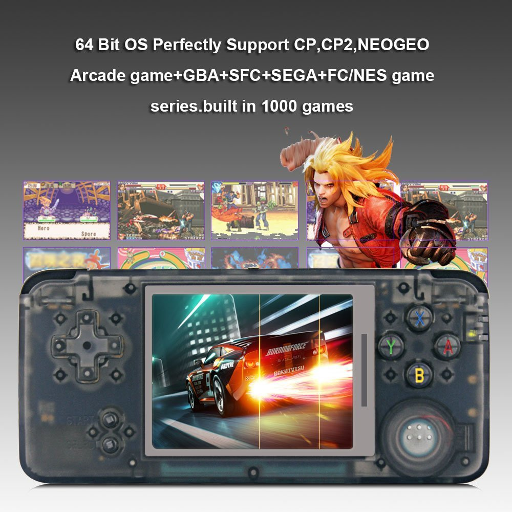 Rongyuxuan handheld game console portable video game 3 tft screen rongyuxuan handheld game console portable video game 3 tft screen classic handheld video game console 818 games 64 bit game console birthday gift fandeluxe Image collections
