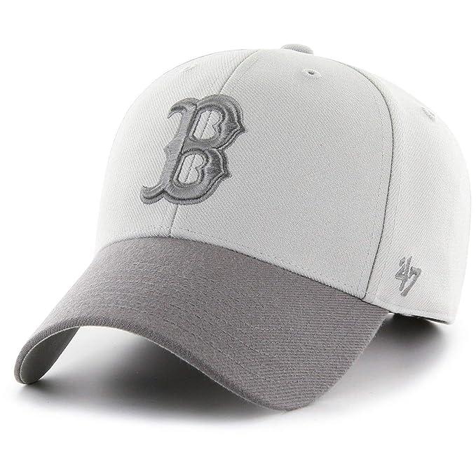 689058087d0 Amazon.com : '47 Brand Adjustable Cap - MVP Boston Red Sox Grey ...