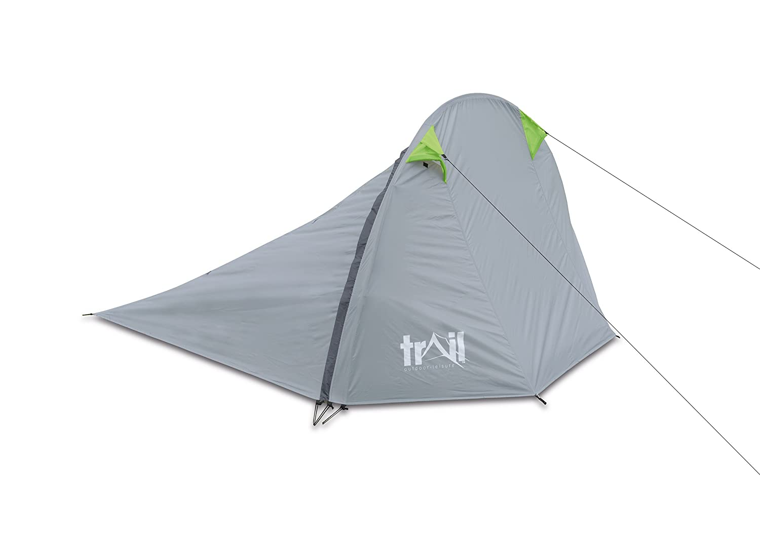 Trail Fly Waterproof C&ing Tent - Grey 260 x 210 x 145 cm Amazon.co.uk Sports u0026 Outdoors  sc 1 st  Amazon UK & Trail Fly Waterproof Camping Tent - Grey 260 x 210 x 145 cm ...