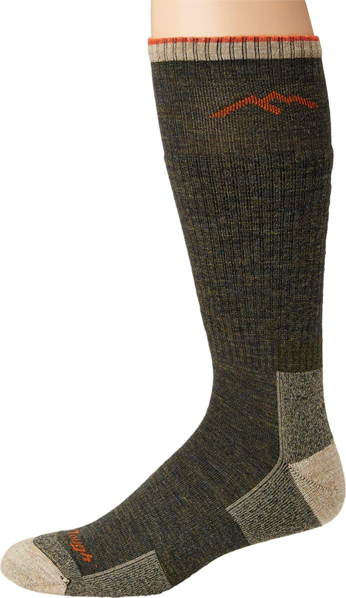 Darn Tough Merino Wool Boot Socks Cushion - Men's Olive X-Large by Darn Tough
