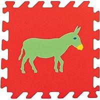 Pilsan Eğitici Polietilen Oyun Matı -Hayvanlar