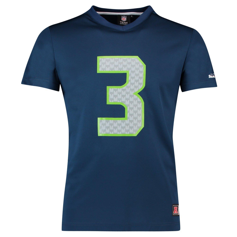 Majestic NFL jersey camicia – Seattle Seahawks     3 Wilson navy, Uomo, Navy, XXL | Bel design  | durabilità  | Eleganti  | Good Design  | Conveniente  0845e6