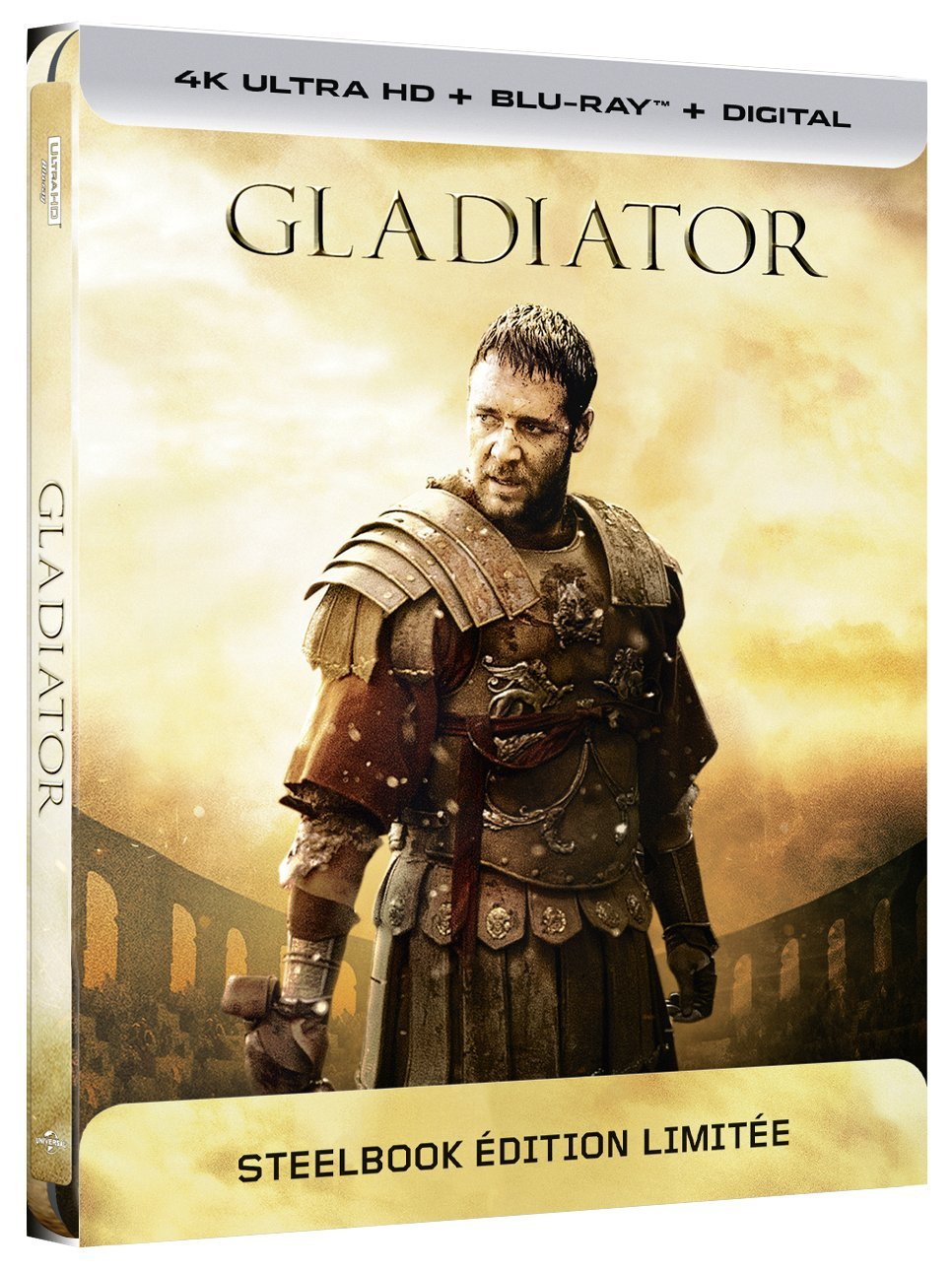 Amazon.com: Gladiator [4K Ultra HD + Blu-Ray Limited Edition Steelbook]:  Movies & TV