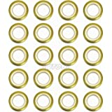 Selling Wonderful 1-9/16-Inch Inner Diameter Curtain Grommets 20-Pack (Champagne)