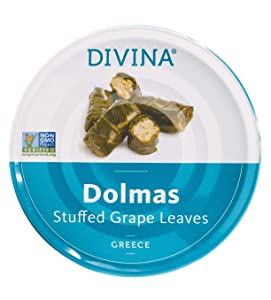 Divina Stuffed Grape Leaves, 7 Ounce (Pack of 12)