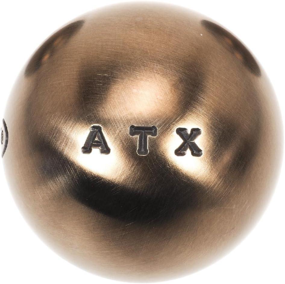 Obut - ATX Competition 76mm m - Boules de pétanque Argent métalisé