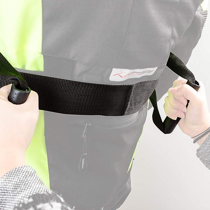 A-Pro Cintura Maniglie Sicurezza Ancoraggio Giacca Passeggero Moto Universale