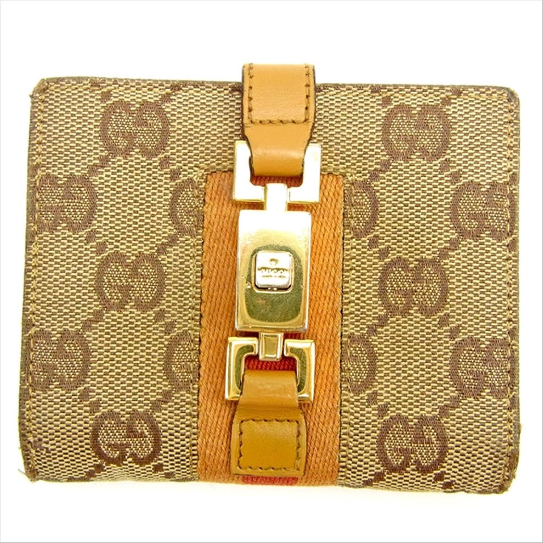 dda2e2200d56 [グッチ] Gucci Wホック財布 レディース メンズ メンズ メンズ 可 GGキャンバス 中古 Y6737 B0772RLW9S a84