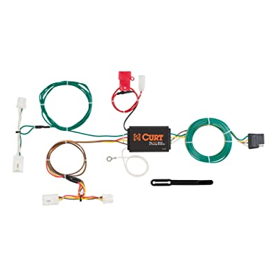 CURT 56267 Vehicle-Side Custom 4-Pin Trailer Wiring Harness for Select Nissan Murano: Automotive