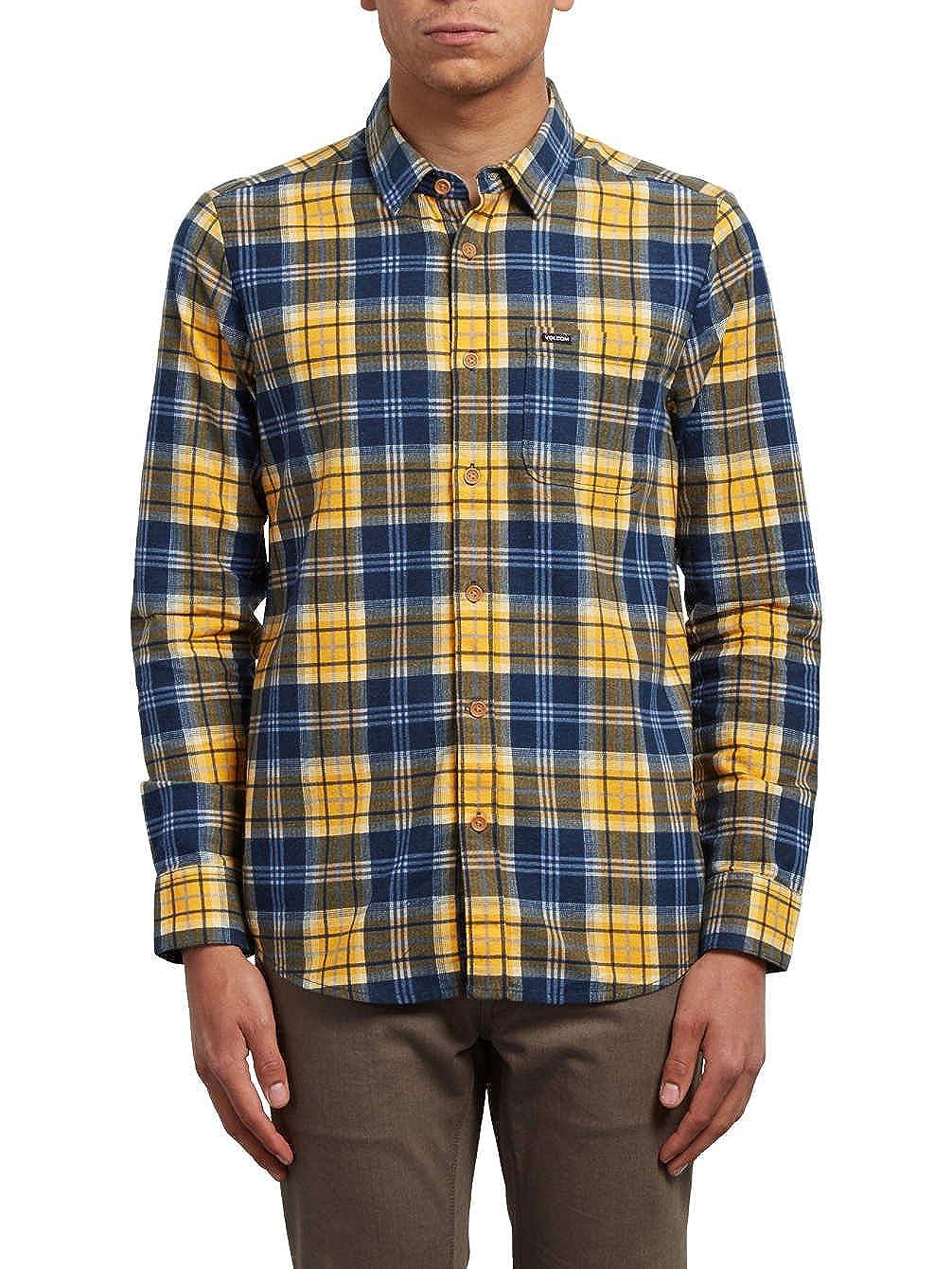 Volcom Hayden L/S Azul Camisa