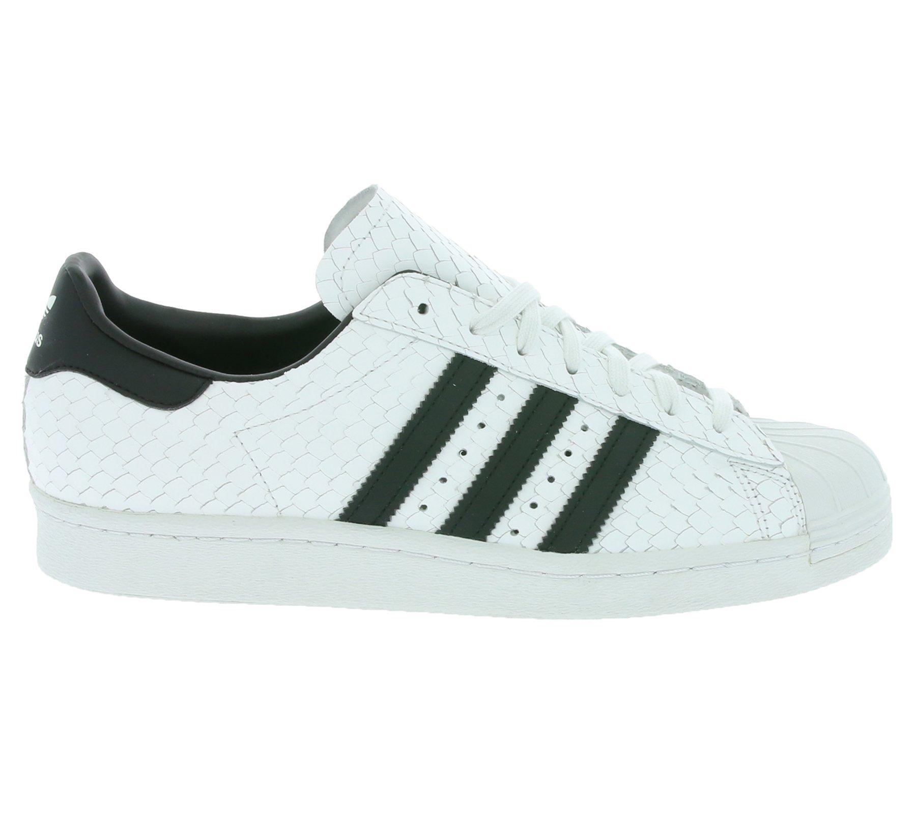Uomini Scarpe Da Ginnastica Adidas Originali Superstar Anni 80 Uomo Sneaker Sneakers Bianche S75836, ...