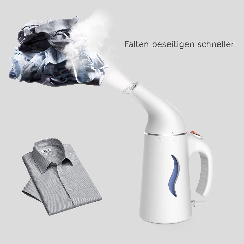 Joywell Dampfgl/ätter Reise-Dampfgl/ätter Typ A -Wei/ß