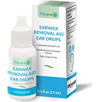 Ear Wax Removal Drops for Clogged Ears by Tilcare - Earwax softening Drops that are effective for Ear Cleaning of Adults…
