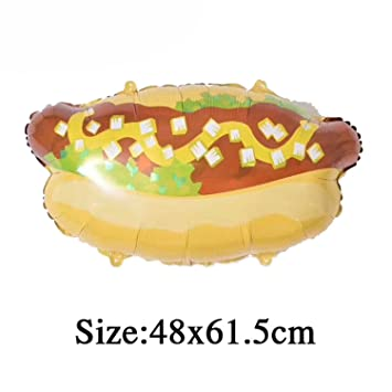 Amazon Michael Palmer 1Pcs Birthday Party Balloons Donuts Cream