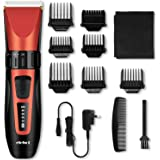 Hair Clipper Trimmer Cordless Cutting Grooming Kit with LCD Display, Rechargeable Ceramic Blades for Men & Women -ELEHOT