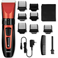 Hair Clipper Trimmer Cordless Cutting Grooming Kit with LCD Display Rechargeable Ceramic Blades for Men & Women -ELEHOT