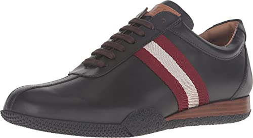 muerto ecuador tarjeta  BALLY Frenz, Dark Brown/Red, 8.5 UK (US Men's 9.5) D - Medium: Buy Online  at Low Prices in India - Amazon.in