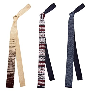 BMC - Conjunto de accesorios para corbata de cuello de punto, 3 ...