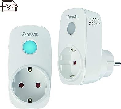 muvit iO Pack 2 enchufes Inteligentes WiFi con Monitor de energía: Amazon.es: Electrónica