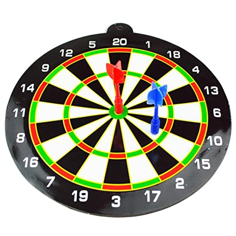 Amazon Com Finebaby Magnetic Dartboard Toy Dart Game With 2