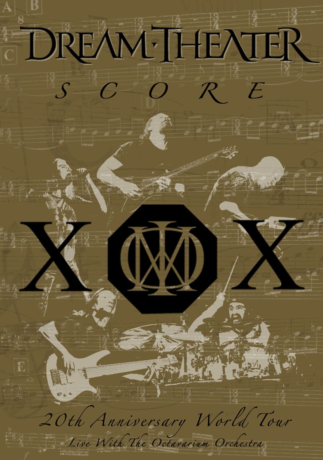 Dream Theater - Score: 20th Anniversary World Tour Live with the Octavarium Orchestra by WEA DVD