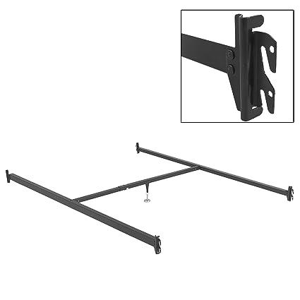 Amazoncom Leggett Platt 81 Inch Bed Frame Side Rails 81 1h With