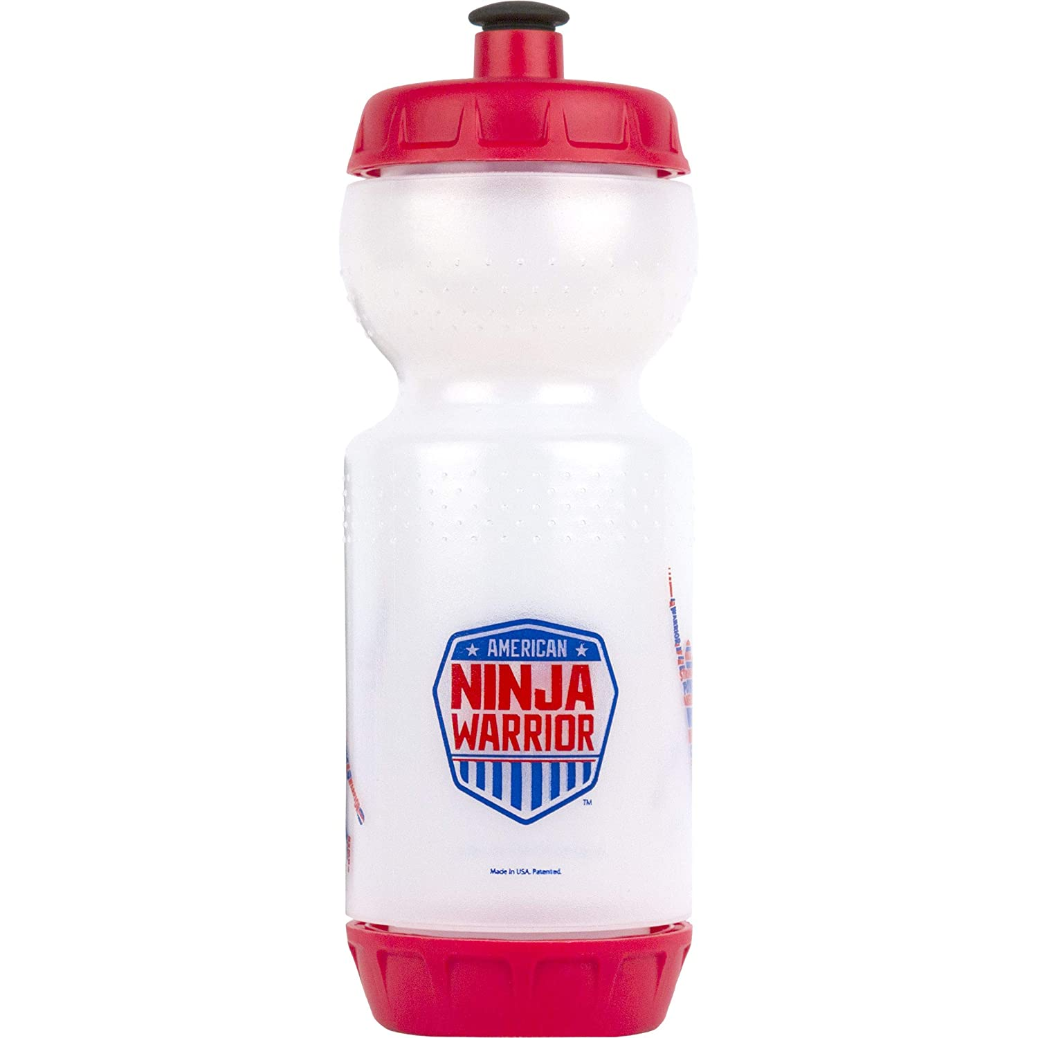 Perfect for On-The-Go Drinks American Ninja Warrior Ninja Water Bottle Great Gift for ANW Fans