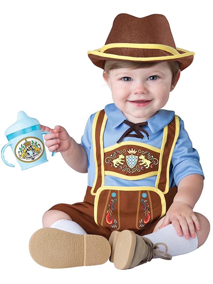 InCharacter Costumes Baby Boys' Little Lederhosen Costume