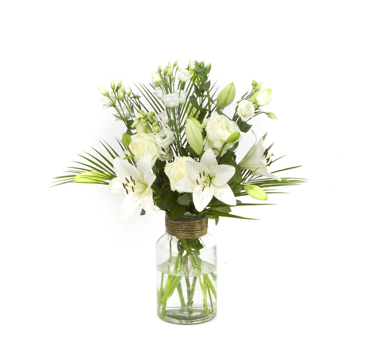 Generic Blumen-strauß Schneewittchen- Ein Strauß voller edler weißer Blumen