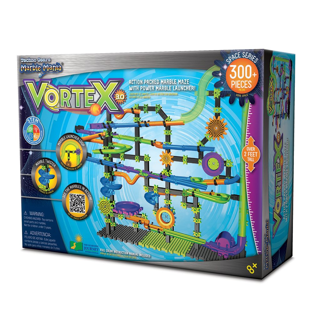Amazon.com: Techno Gears Marble Mania Vortex 3.0 (300+ pcs): Toys & Games