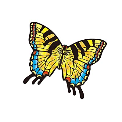 "WindNSun Microkite Mini Mylar Butterfly 4.7"" Swallowtail Kite: Toys & Games"
