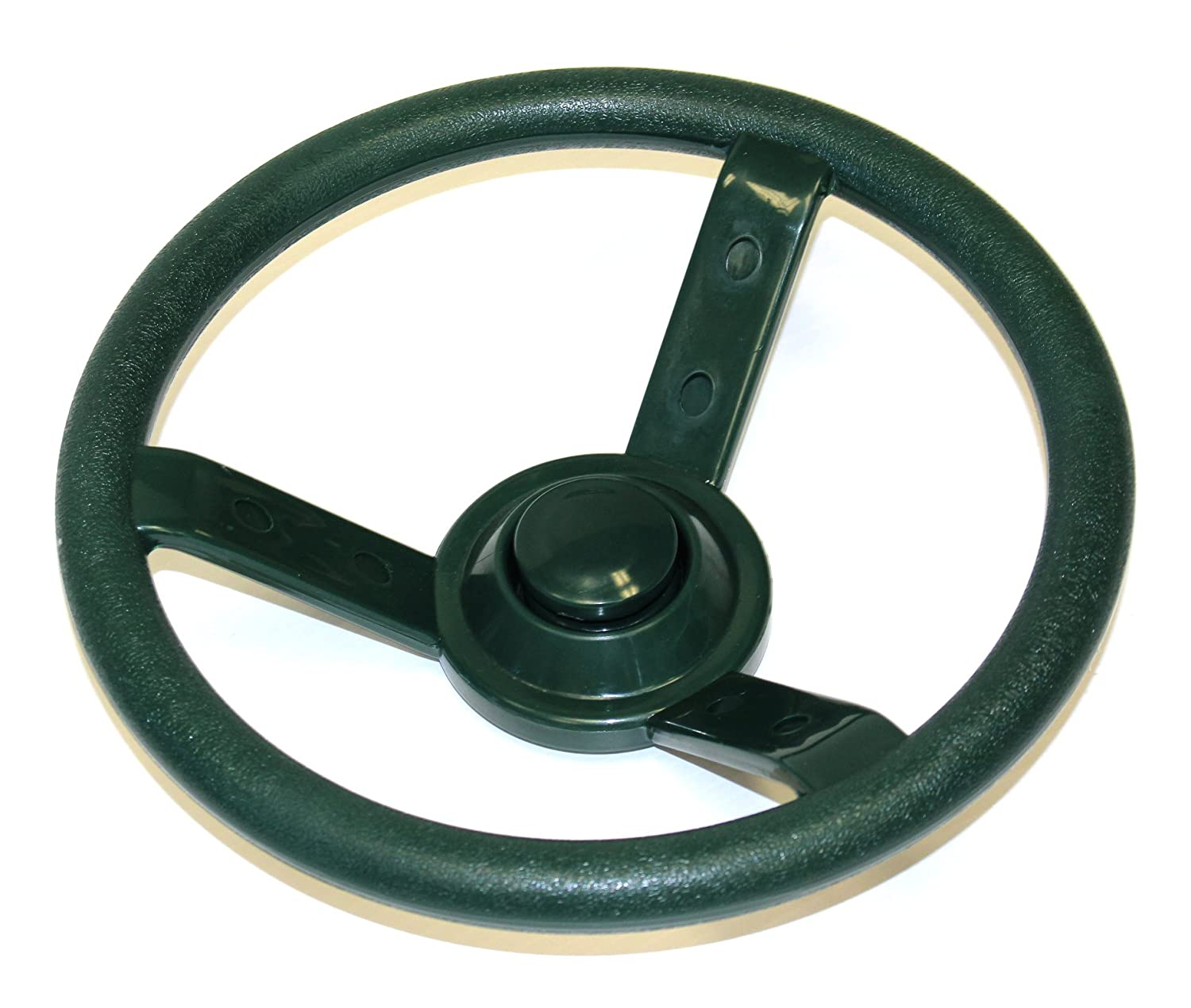 Eastern Jungle Gym Green Plastic Steering Wheel Swing Set Accessory for Wood Backyard Play Set