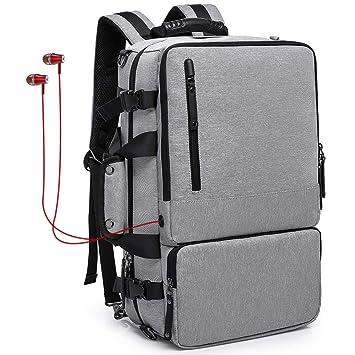 46f82f5acfaa Amazon.com  KAKA Travel Backpacks for Men