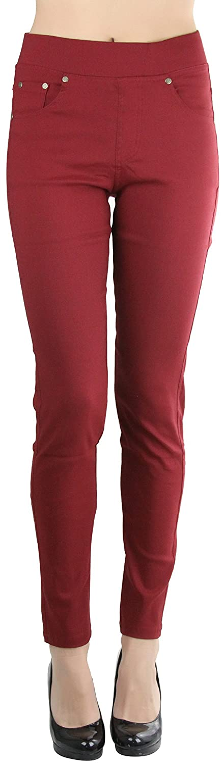 ToBeInStyle Women's Woven Stretch Pants