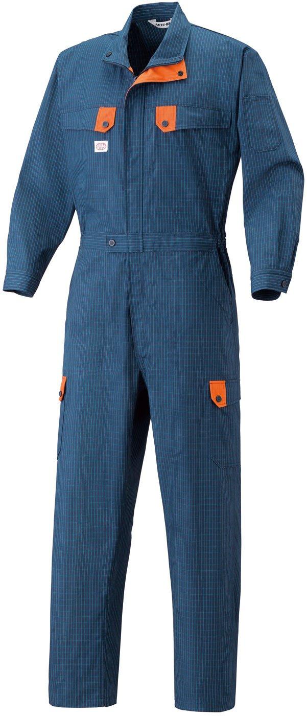 EDWIN(エドウイン) 半袖つなぎ オールインワン ストレッチ 綿ウォッシュ加工 edwin-81001 B073VP61CZ 4L|カーキ