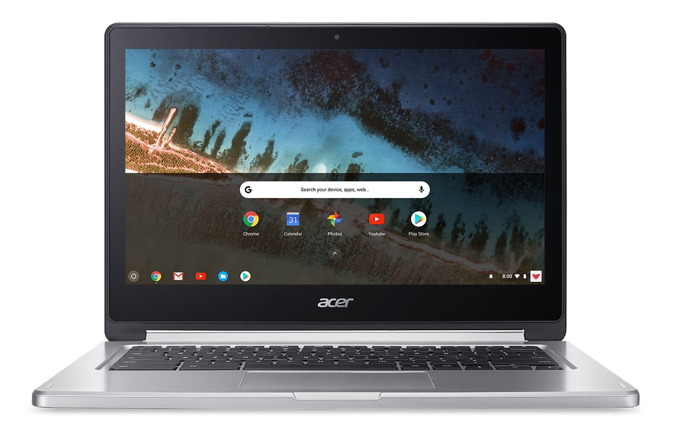 Acer Chromebook R 13 Convertible, 13 3-inch Full HD Touch, MediaTek  MT8173C, 4GB LPDDR3, 32GB, Chrome, CB5-312T-K5X4