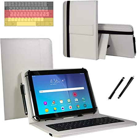 Funda con Teclado QWERTZ para Acer Iconia One 10 (B3-A50FHD ...