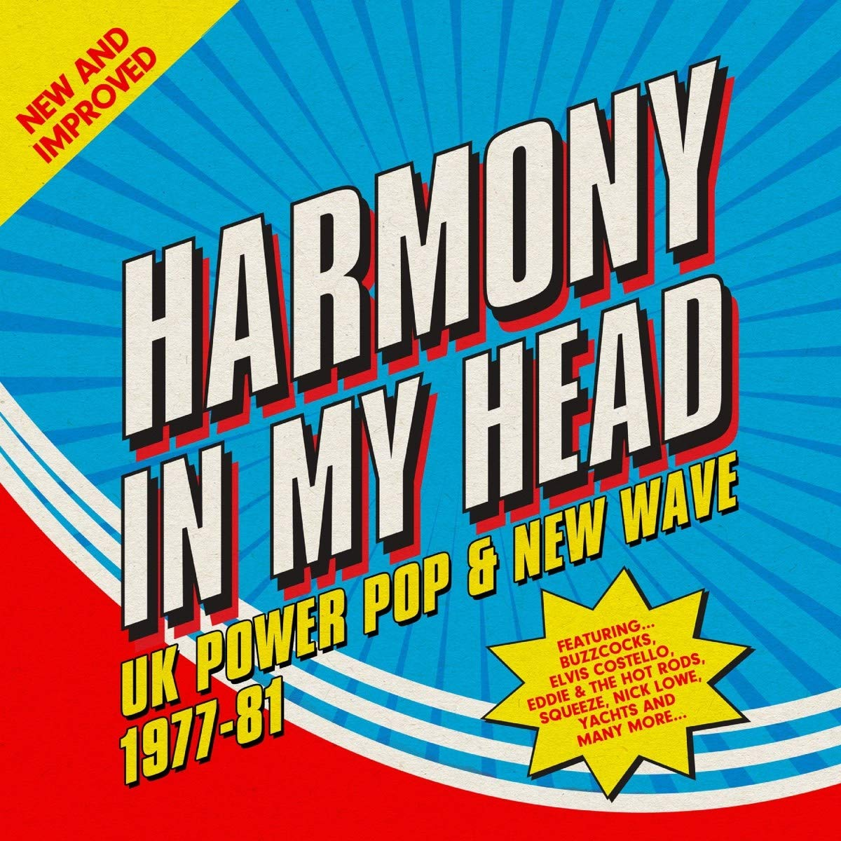 CD : VARIOUS ARTISTS - Harmony In My Head: Uk Power Pop & New Wave 1977-1981 /  Various (Boxed Set, United Kingdom - Import, NTSC Region 0)