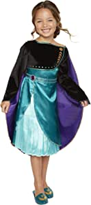 Frozen 2 Anna Epilogue Dress for Girls, New Movie Princess Dress Up Costume for Halloween Christmas Party, Outfit Fits Sizes 4-6X - for Girls Ages 3, 4, 5 & 6